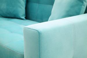 Прямой диван Этро люкс с опорой №1 Maserati Light blue Текстура ткани