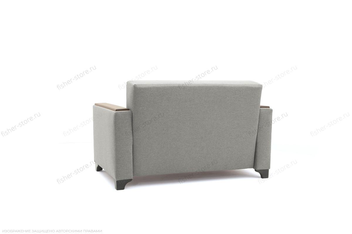 Прямой диван Этро-2 с опорой №1 Dream light grey Вид сзади