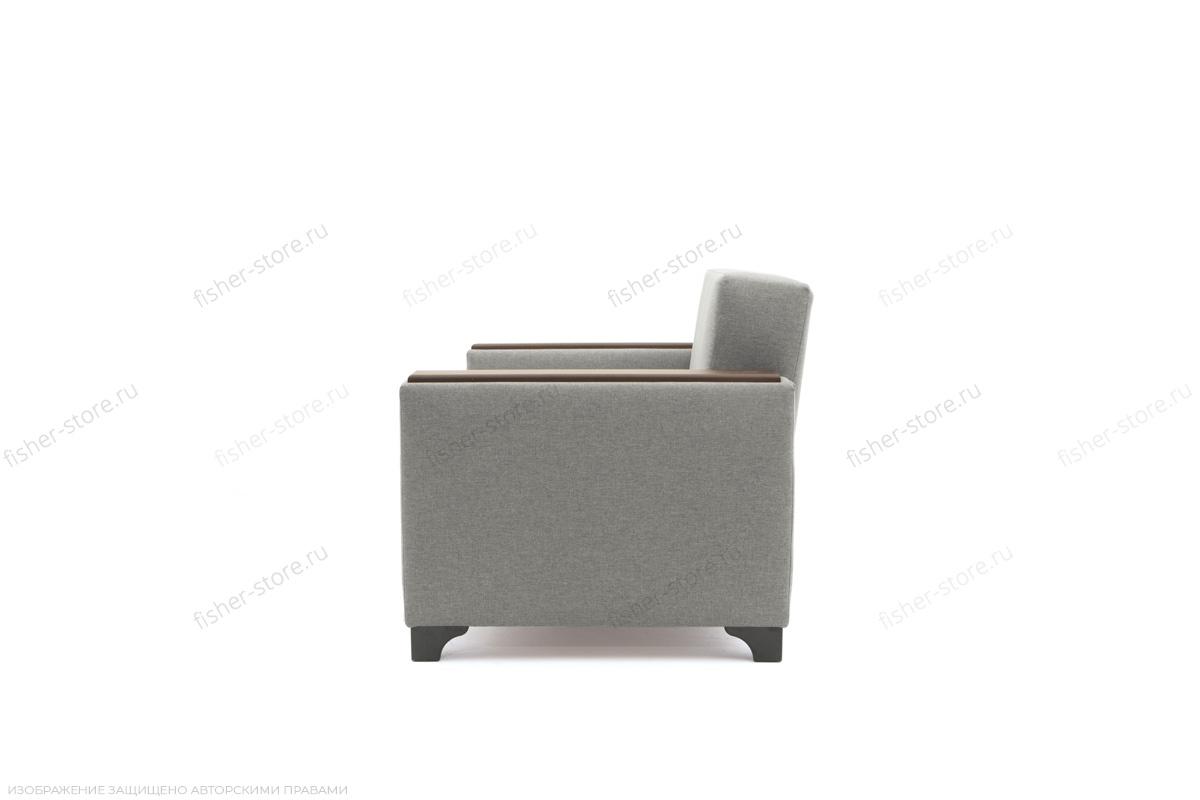 Прямой диван Этро-2 с опорой №1 Dream light grey Вид сбоку