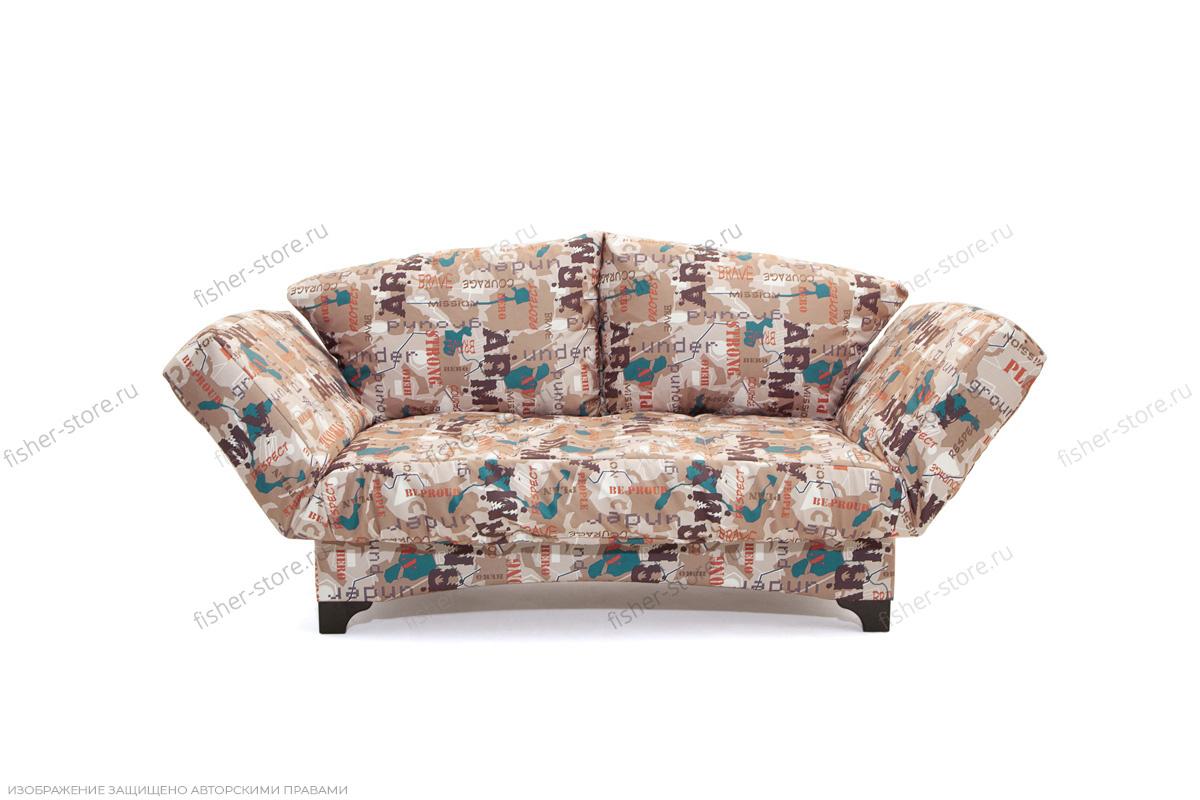 Прямой диван Элис с опорой №1 Army Beight Вид спереди