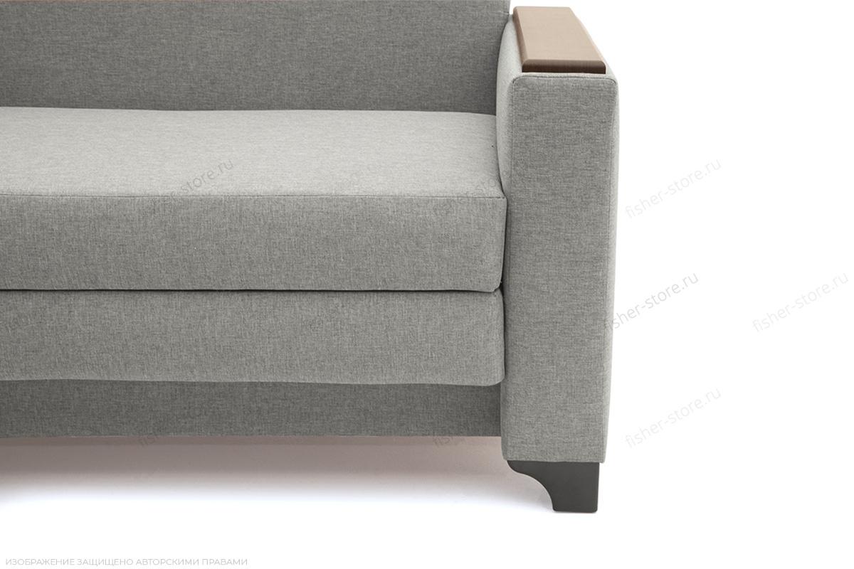 Прямой диван Этро-2 с опорой №1 Dream light grey Ножки
