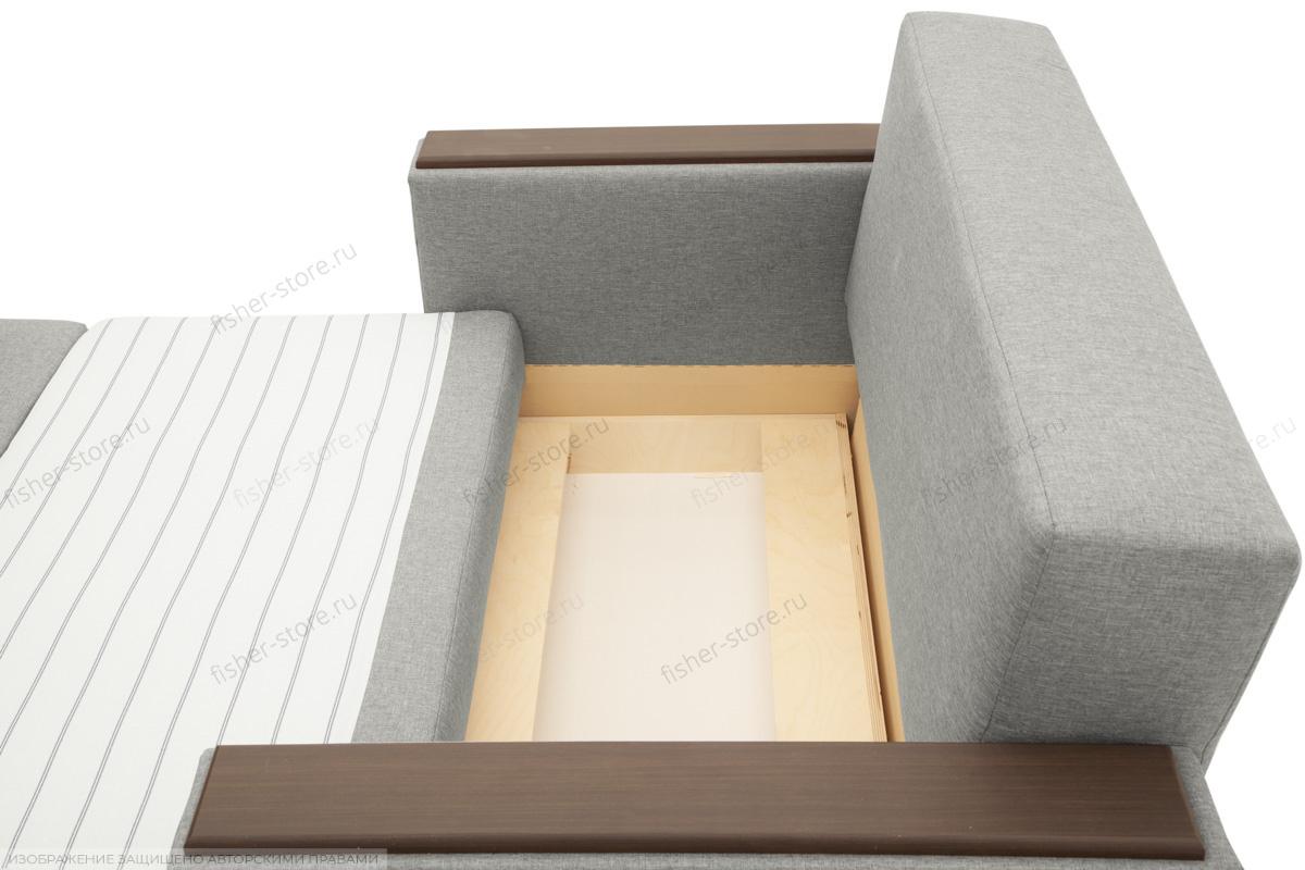 Прямой диван Этро-2 с опорой №1 Dream light grey