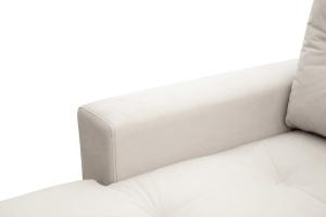 Угловой диван Джерси-6 с опорой №9 Maserati White Подлокотник
