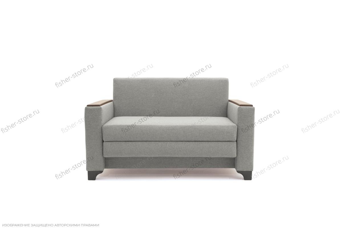Прямой диван Этро-2 с опорой №1 Dream light grey Вид спереди