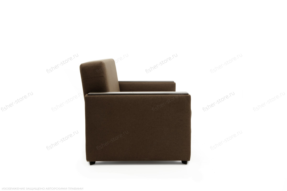 Прямой диван Этро-2 Dream Brown Вид сбоку