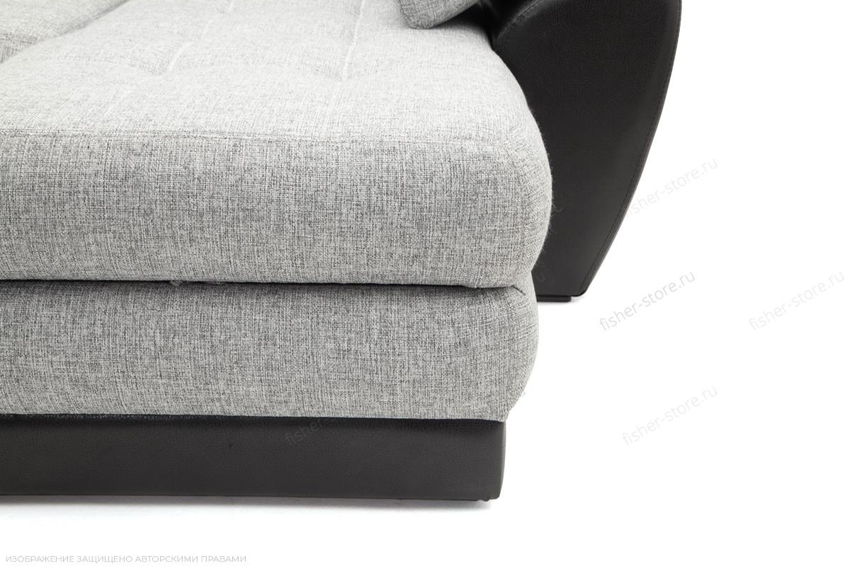 Угловой диван Император-2 Big Grey + Sontex Black Ножки
