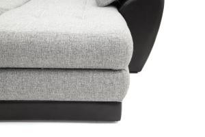 Двуспальный диван Император-2 Big Grey + Sontex Black Ножки