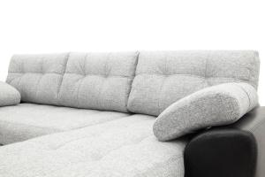 Угловой диван Император-2 Big Grey + Sontex Black Подушки