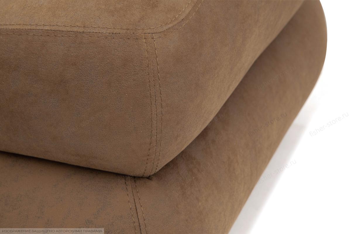 Угловой диван Премиум Medly Chocolate + Medly Bone Текстура ткани