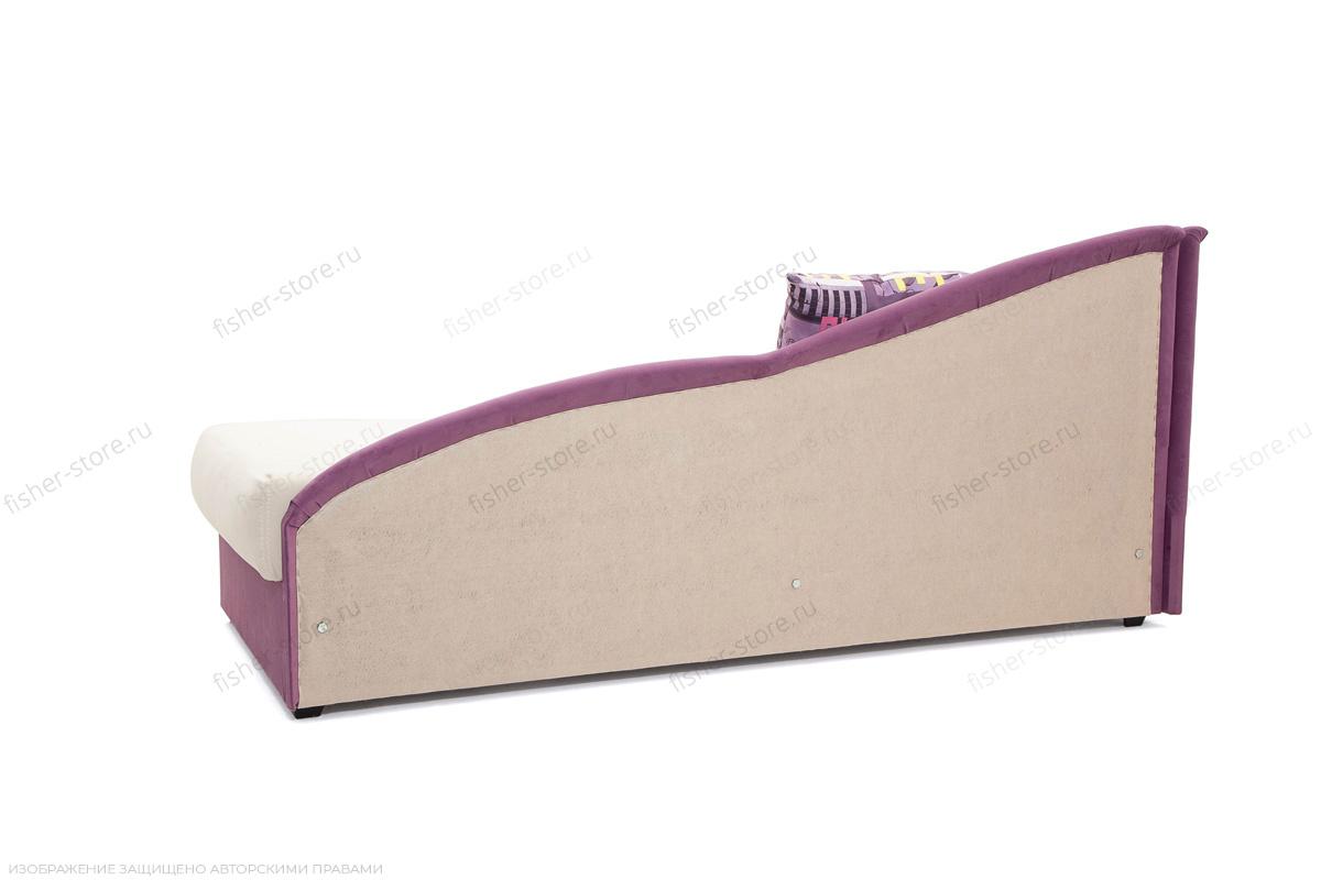 Двуспальный диван Лотос Amigo Bone + Maserati Purple Вид сзади
