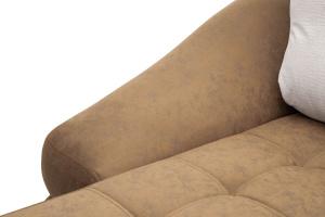Угловой диван Премиум Medly Chocolate + Medly Bone Подлокотник