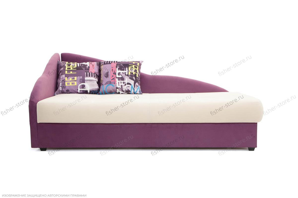 Тахта Лотос Amigo Bone + Maserati Purple Вид спереди