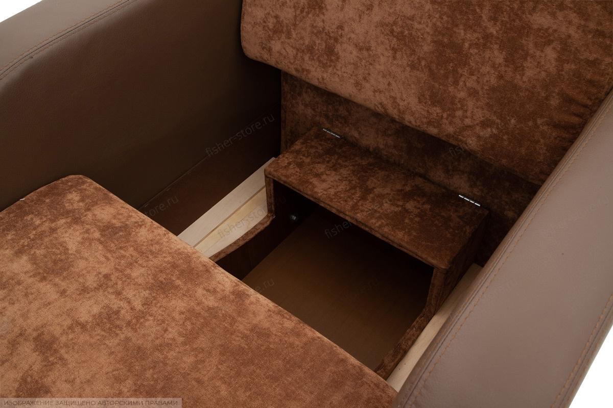 Кресло Вестерн Lite Brown + Astor Coffe Ящик для белья