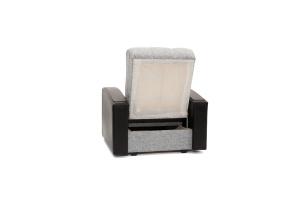 Кресло Вито-3 Big Grey + Sontex Black Вид сзади