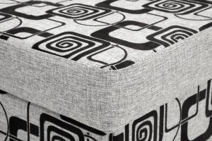 Тахта Шик TV Grey + Big Grey Текстура ткани