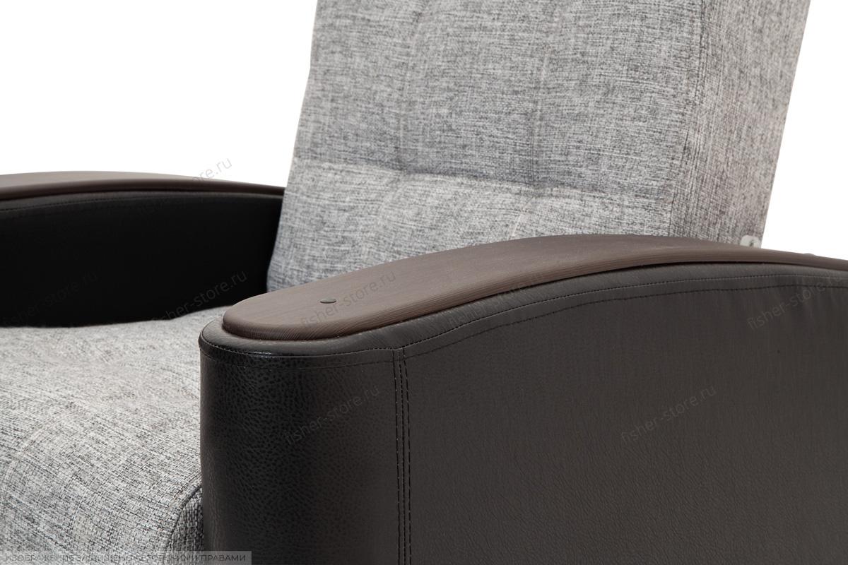 Кресло Вито-3 Big Grey + Sontex Black Текстура ткани