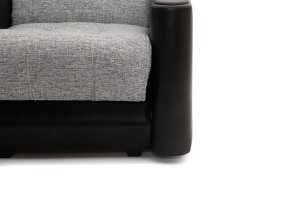 Кресло Вито-3 Big Grey + Sontex Black Ножки
