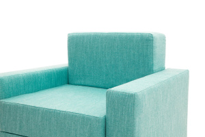 Кресло кровать Гольф (60) Orion Blue Подлокотник
