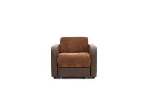 Кресло Вестерн Lite Brown + Astor Coffe Вид спереди