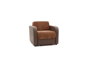 Кресло Вестерн Lite Brown + Astor Coffe Вид по диагонали
