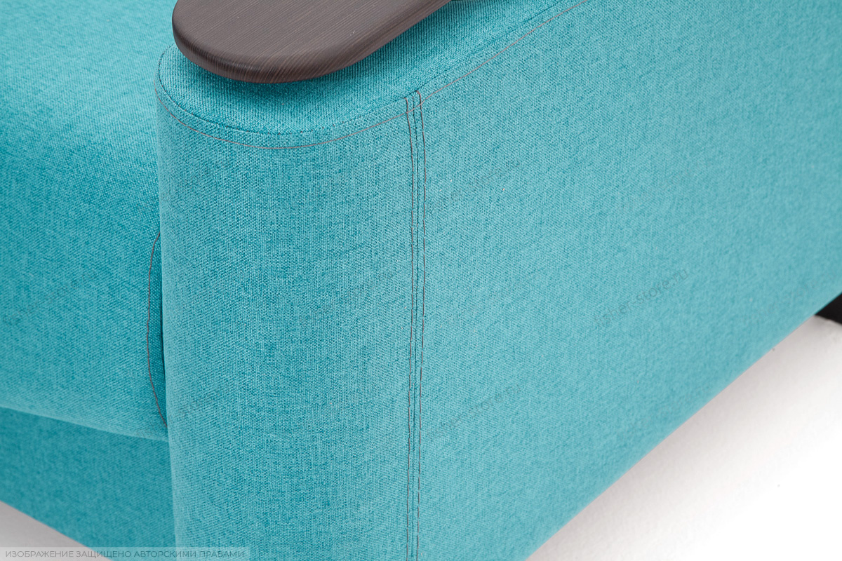 Кресло Рондо с опорой №2 Alma Blue Текстура ткани