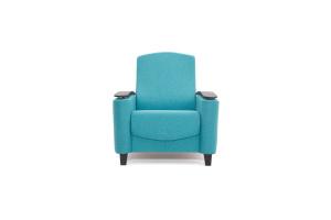 Кресло Рондо с опорой №2 Alma Blue Вид спереди