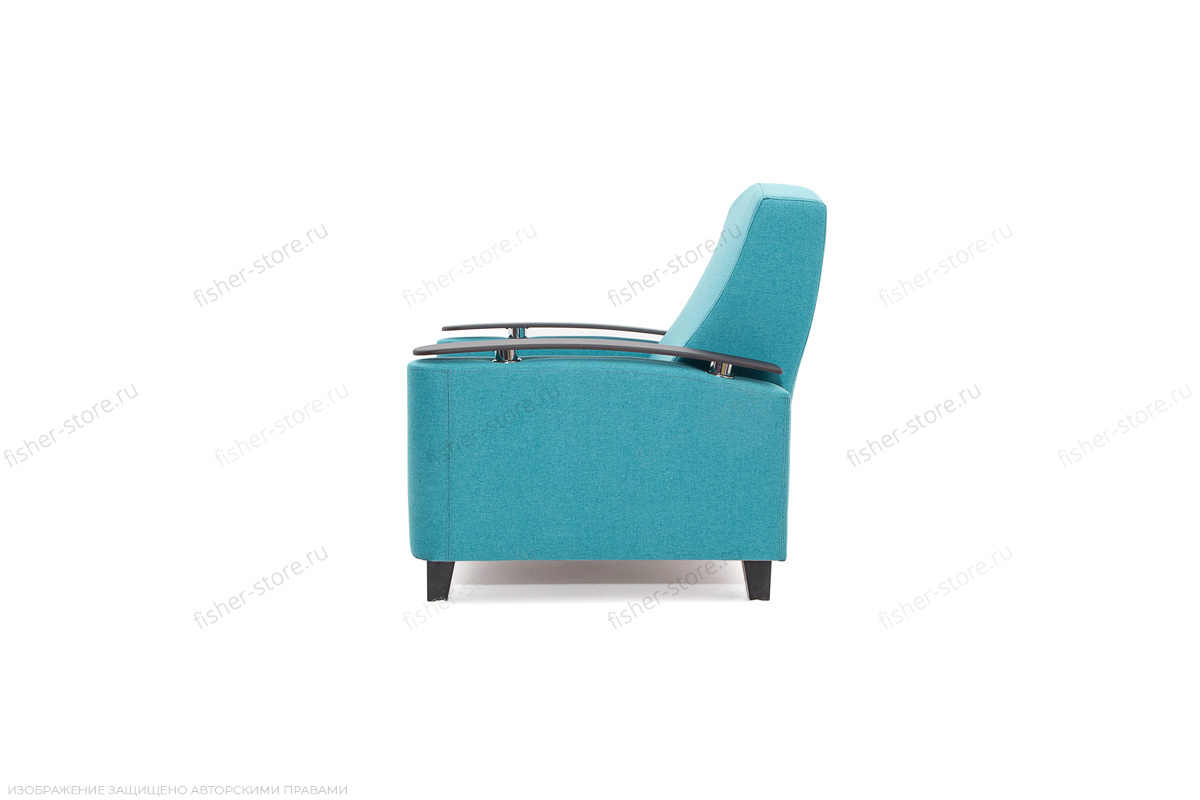 Кресло Рондо с опорой №2 Alma Blue Вид сбоку