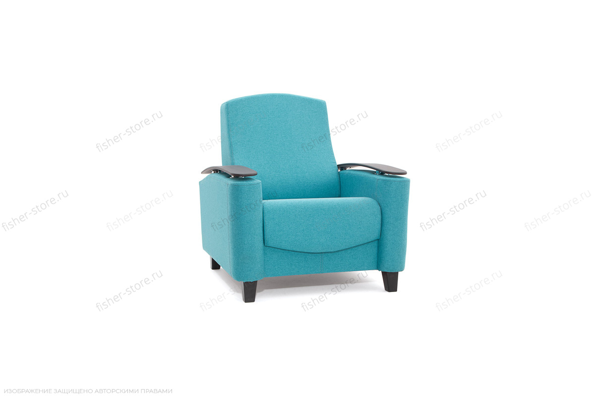 Кресло Рондо с опорой №2 Alma Blue Вид по диагонали