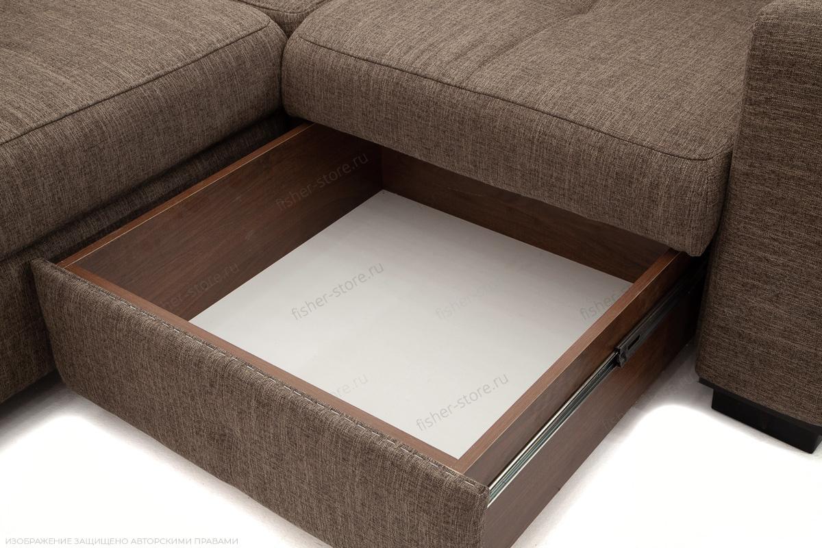 Угловой диван Меркурий-2 Orion Nut Ящик для белья