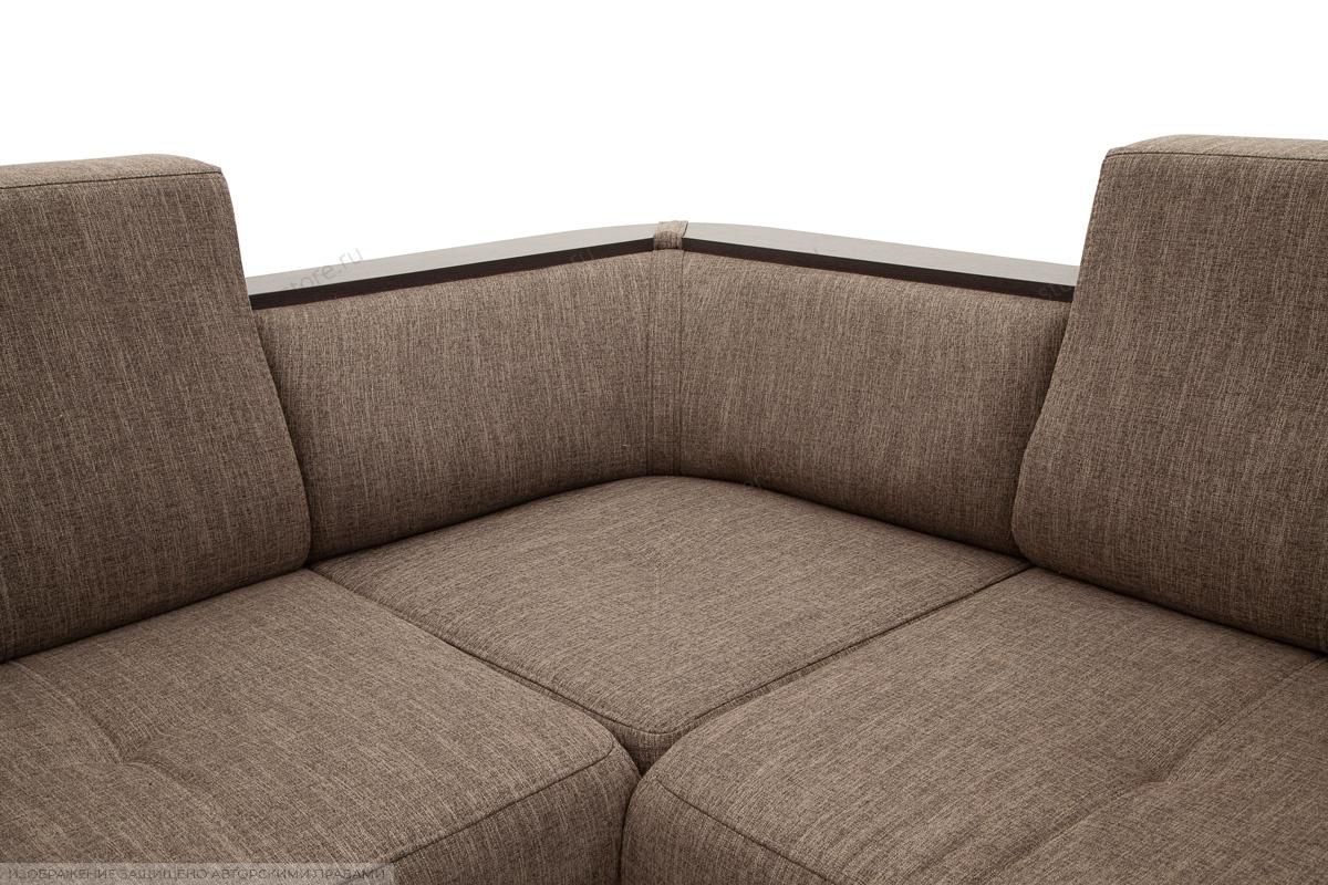 Угловой диван Меркурий-2 Orion Nut Текстура ткани