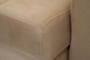 Угловой диван Берлин-3 Maserati Light Brown Текстура ткани