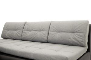 Угловой диван Модерн Dream Light grey + Sontex Black Подушки