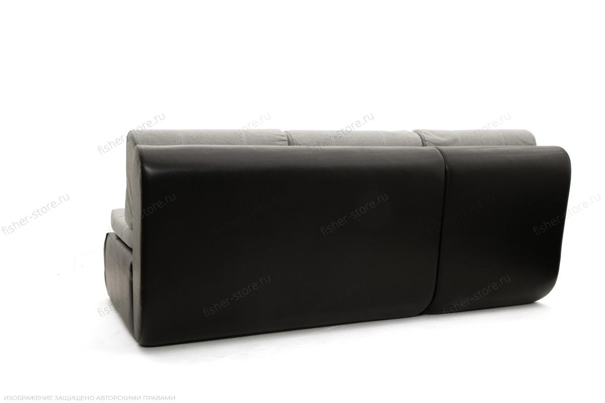 Угловой диван Модерн Dream Light grey + Sontex Black Вид сзади