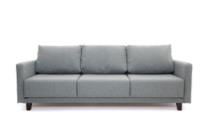 Прямой диван Марис с опорой №2 Baltic Grey Вид спереди