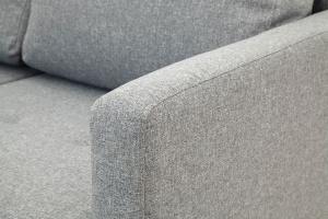 Прямой диван Марис с опорой №2 Baltic Grey Текстура ткани