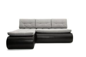 Угловой диван Модерн Dream Light grey + Sontex Black Вид спереди