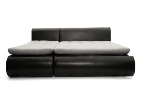 Угловой диван Модерн Dream Light grey + Sontex Black Спальное место