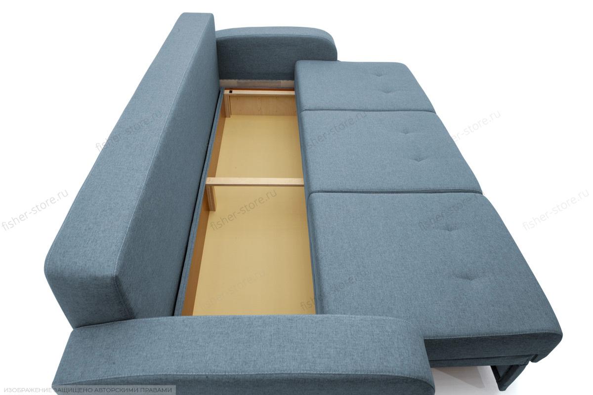 Прямой диван Селена Dream Blue Ящик для белья