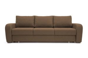 Прямой диван Селена Рогожка Dream Brown Вид спереди