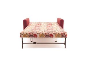 Прямой диван Этро люкс с опорой №5 History Summer + Orion Red Спальное место