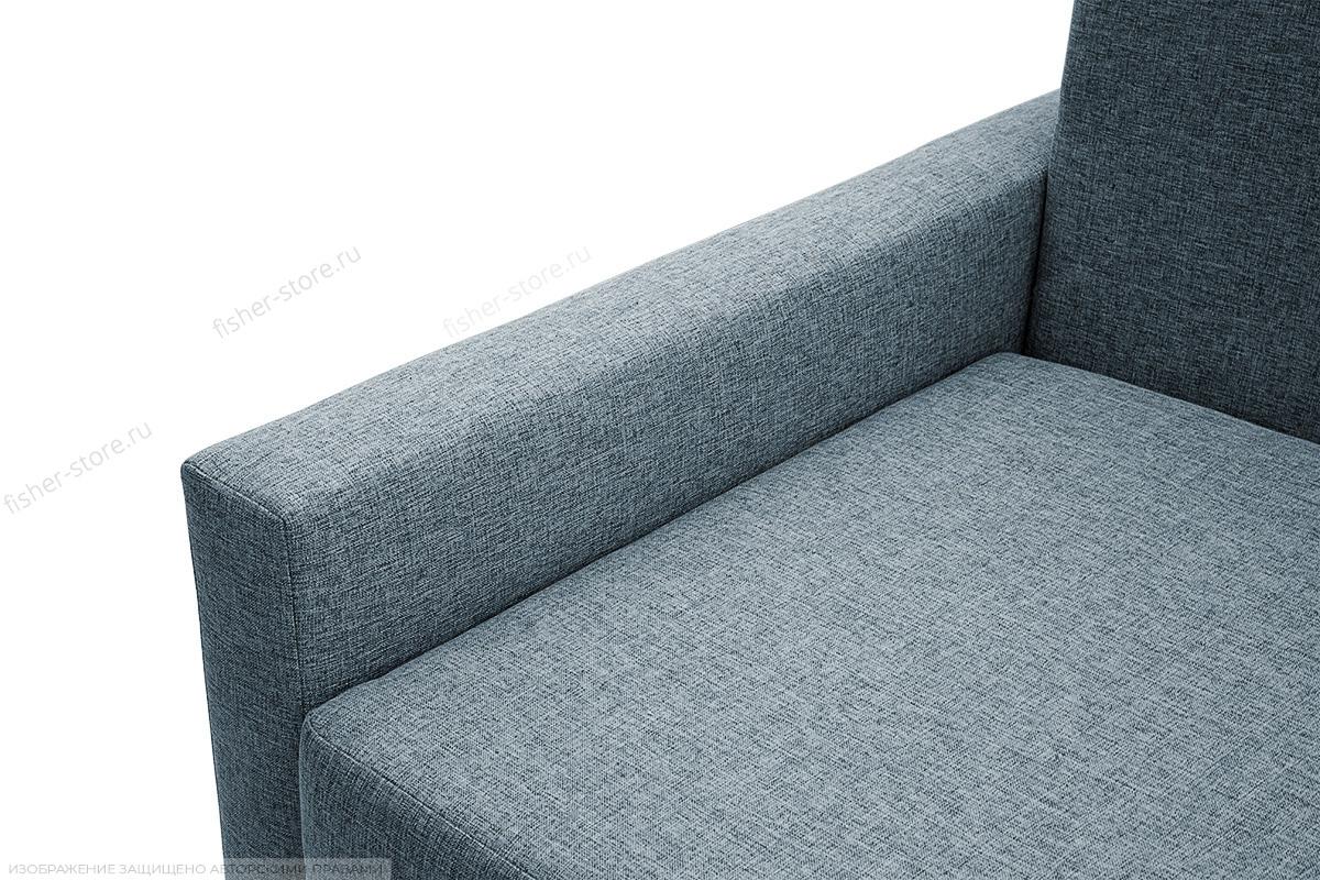 Прямой диван Этро с опорой №2 Dream Blue Подлокотник