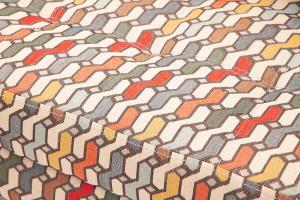 Прямой диван Этро люкс с опорой №5 History Bricks + Orion Denim Текстура ткани