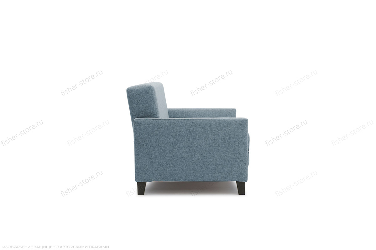 Прямой диван Этро с опорой №2 Dream Blue Вид сбоку