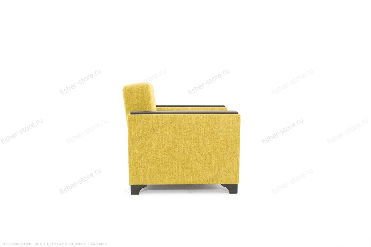 Кресло кровать Этро-2 с опорой №1 Orion Mustard Вид сбоку