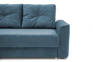 Прямой диван еврокнижка Фьюжн Maserati  Blue Ножки