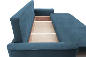 Прямой диван еврокнижка Фьюжн Maserati  Blue Ящик для белья