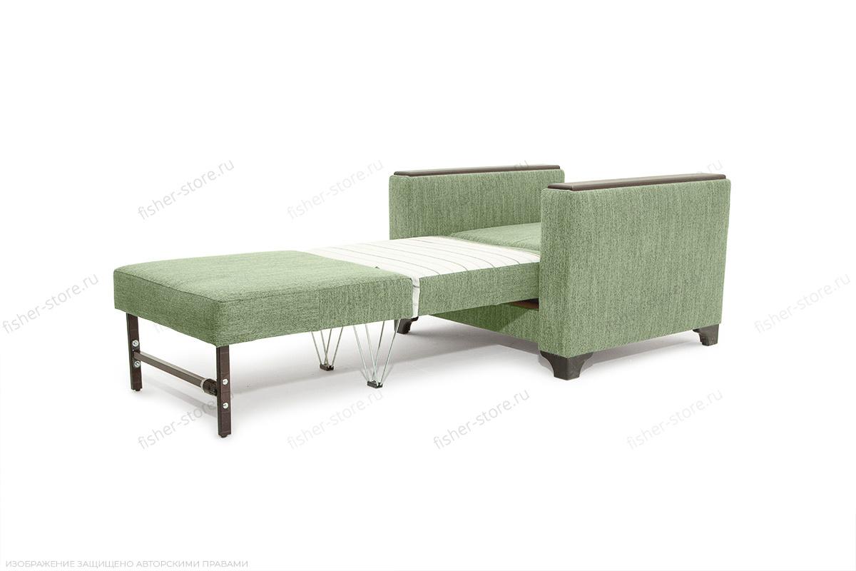 Кресло Этро-2 с опорой №1 Orion Green Спальное место