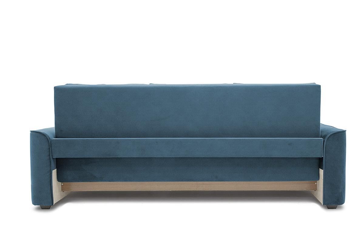 Прямой диван еврокнижка Фьюжн Maserati  Blue Вид сзади