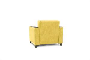 Кресло кровать Этро-2 с опорой №1 Orion Mustard Вид сзади