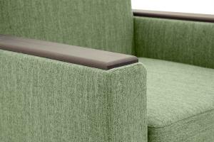 Кресло Этро-2 с опорой №1 Orion Green Текстура ткани